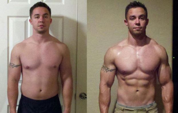 Ostarine before and after