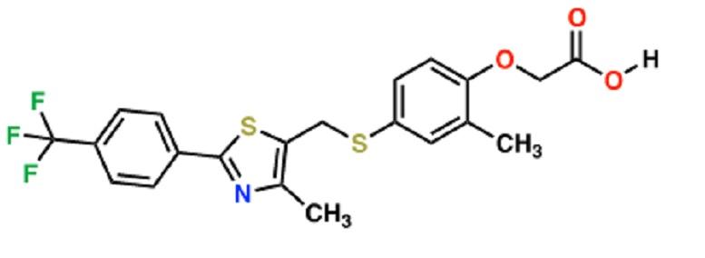 Cardarine molecule