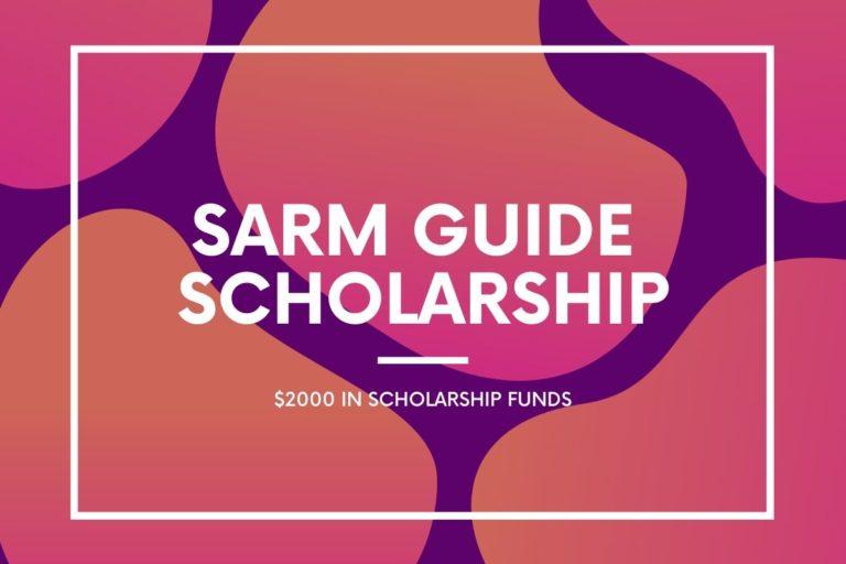 sarmguide scholarship