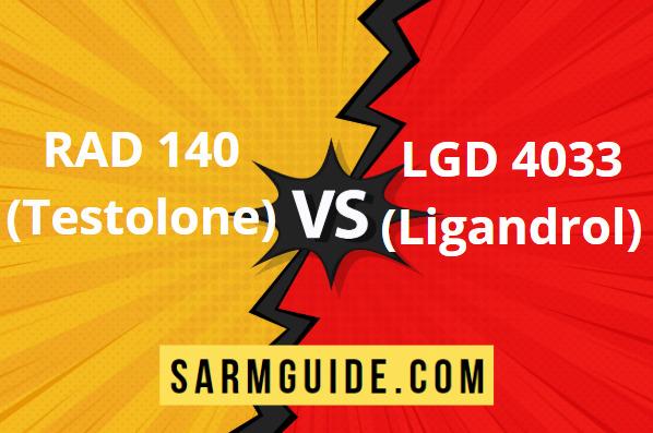 RAD 140 vs LGD 4033
