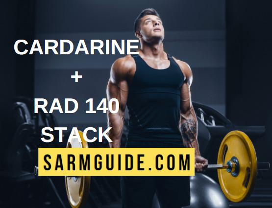 Cardarine RAD 140 stack