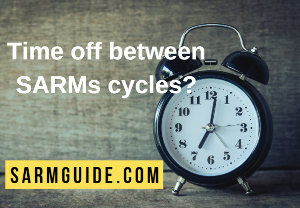 Time off between SARMs cycles