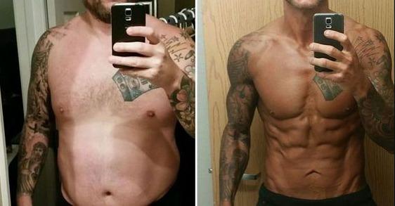 S23 results fat loss transformation