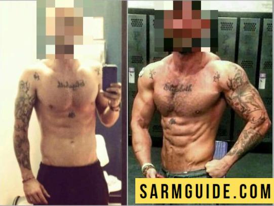S23 SARM 8 week results
