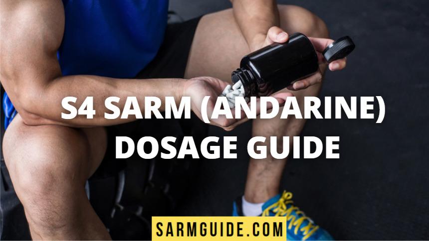 S4 SARM dosage guide