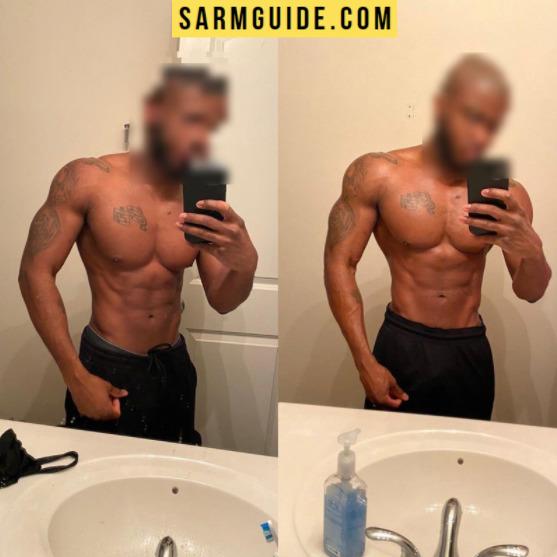 SARMS transformation photo - RAD 140