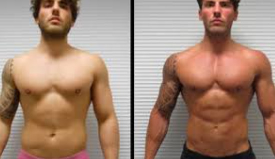 Ostarine before and after result photo