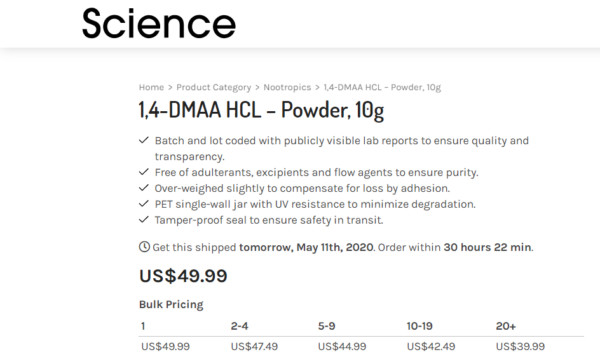 bulk discount for science.bio